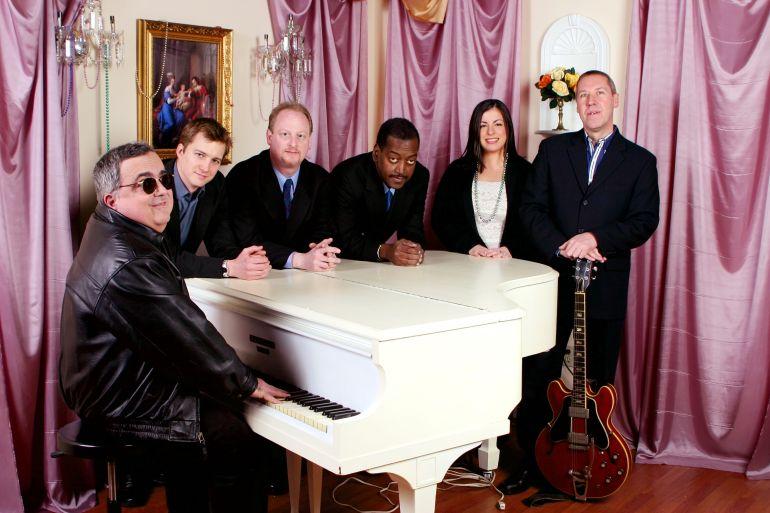 nawlins funk band - Frank Antico, Luke Batson, Dave Clive, Albert Casado, Lindsay Pinzino, Bob Petrocelli