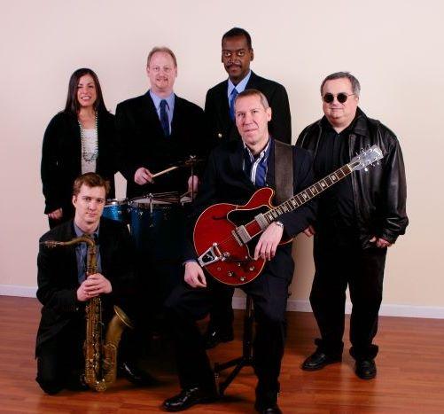 nawlins funk band - Lindsay Pinzino, Dave Clive, Albert Casado, Frank Antico, Luke Batson, Bob Petrocelli
