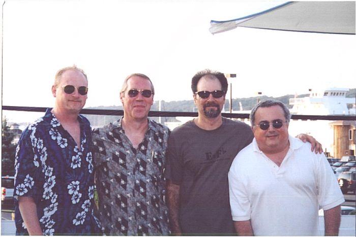 nawlins funk band - Dave Clive, Bob Petrocelli, Ed Camiolo, Frank Antico