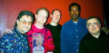 nawlins funk band - Tom Pascal, Dave Clive, Bob Petrocelli, Albert Casado, Frank Antico